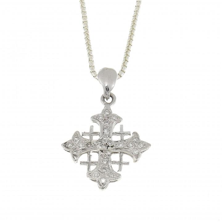 Иерусалимский крест с бриллиантами