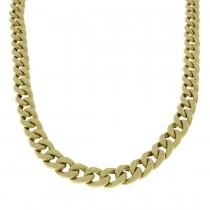 Золотая цепочка, желтое золото, вес 38,19 грамма
