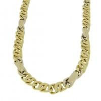 Золотая цепочка, желтое золото, вес 35,17 грамма