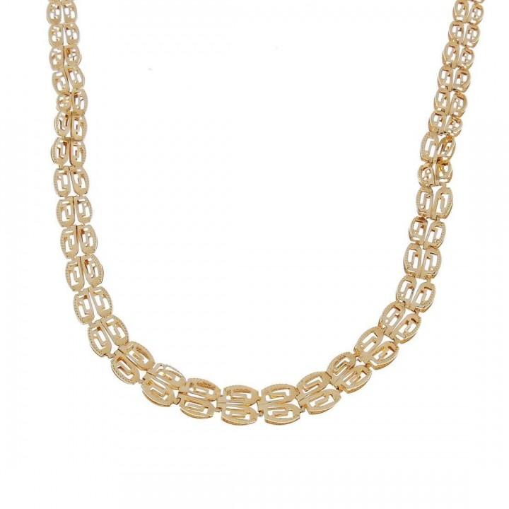 Цепочка для женщины, красное золото, длина 47 см