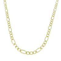 Золотая цепочка мужская, желтое золото, вес 19,49 грамма