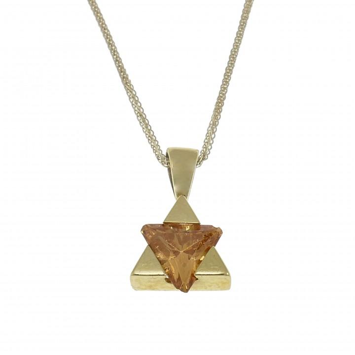 Маген Давид из золота