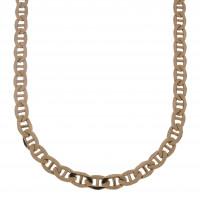 Цепочка для мужчины, красное золото, длина 54 см