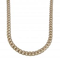 Цепочка для мужчины, красное золото, длина 59 см