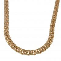 Золотая цепочка Бисмарк, красное золото 14 карат, 104 грамма