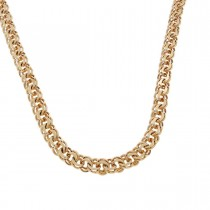 Chain for men, red gold, length 49 cm
