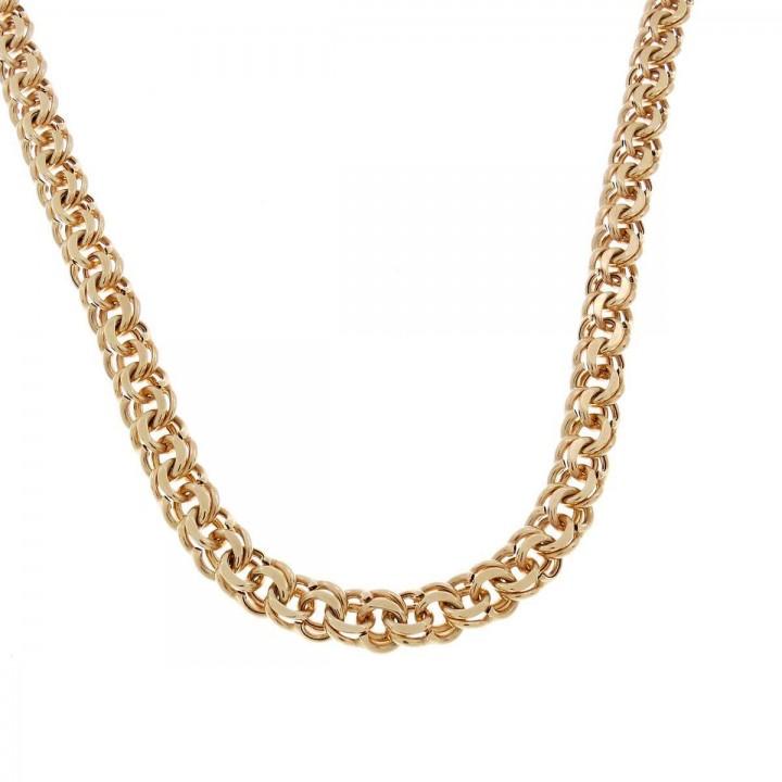 Chain for men, red gold, length 49 cm