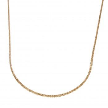 Мужская цепочка, красное золото, длина 54 см