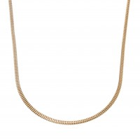 Цепочка для мужчины, красное золото, длина 58 см