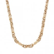 Chain for men, red gold, length 64 cm