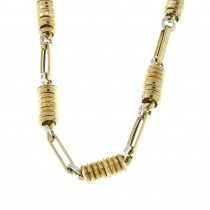 Men's chain, 14K yellow gold, length 60 cm
