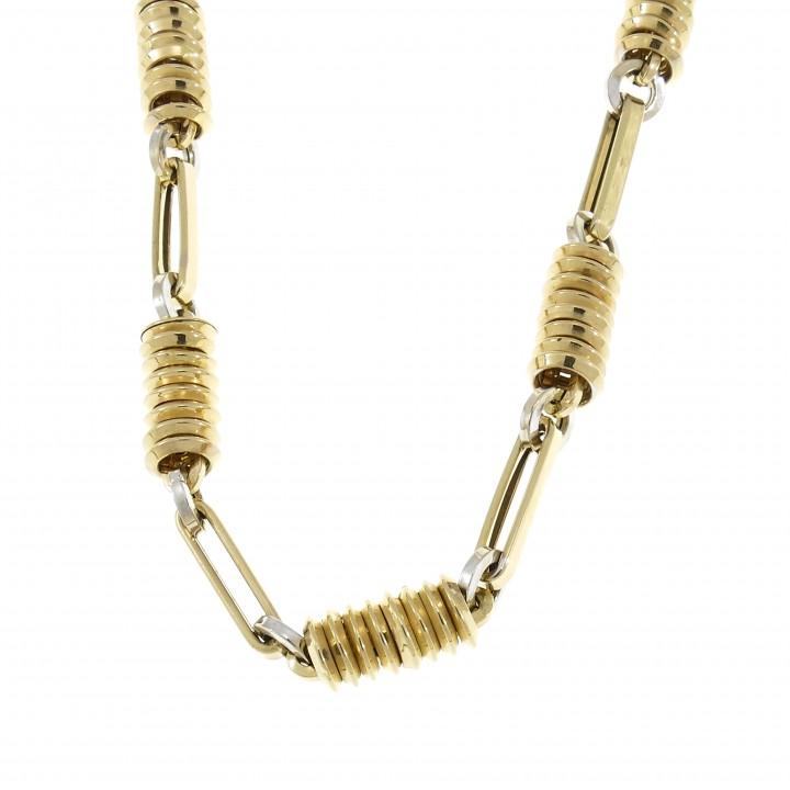 Men's chain, 14K yellow gold, length 60 cm