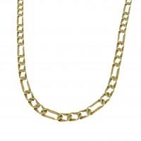 Цепочка для мужчины, желтое золото 14 карат, длина 50 см