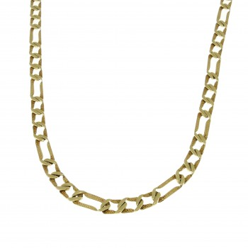 Chain for a man, 14K yellow gold, length 50 cm
