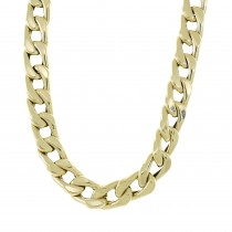 Chain for a man, 14K yellow gold, length 60 cm