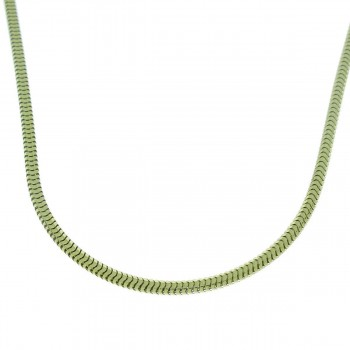 Chain for a man, 14K yellow gold, length 64 cm