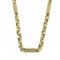 Chain for a man, 14K yellow gold, length 55 cm