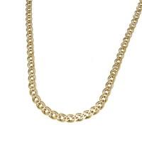 Золотая цепочка мужская, желтое золото, вес 30 грамм