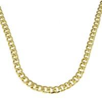 Золотая цепочка мужская, желтое золото, вес 24,83 грамма