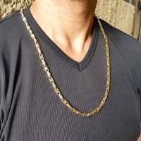 Золотая цепочка, желтое золото, вес 35,66 грамма, длина 62 см