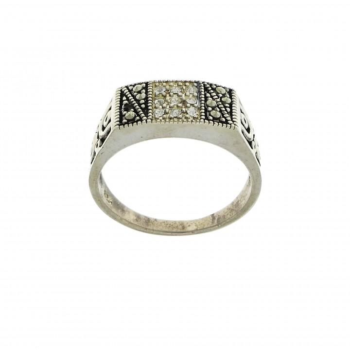 Кольцо для женщины, серебро 925 проба, фианиты