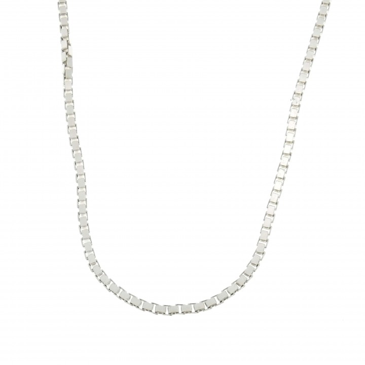 Chain for a woman, 925 sterling silver, length 64 cm