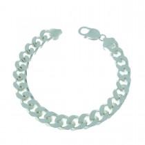 Bracelet for a man, 925 sterling silver, length 21 cm