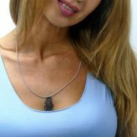Цепочка для женщины, серебро 925 проба, длина 56 см