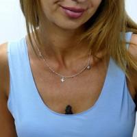 Цепочка для женщины, серебро 925 проба, длина 48 см
