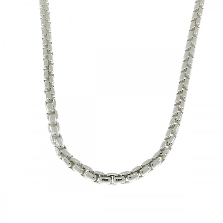 Chain for a man, 925 sterling silver, length 60 cm