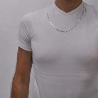 Цепочка для мужчины, серебро 925 проба, длина 50 см