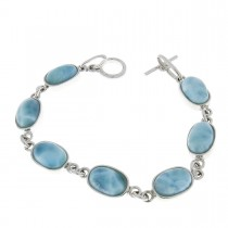 Bracelet for a woman, 925 sterling silver, length 18 cm