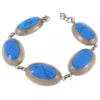 Bracelet for a woman, 925 sterling silver, length 20 cm