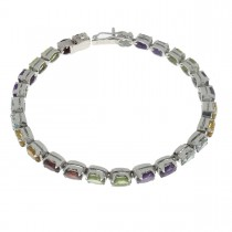 Bracelet for a woman, 925 sterling silver, length 20 cm