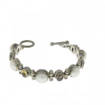 Bracelet for a woman, 925 sterling silver, length 19 cm
