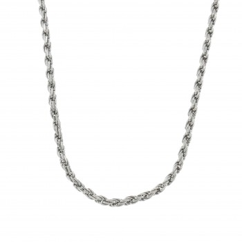 Chain for a woman, 925 sterling silver, length 60 cm