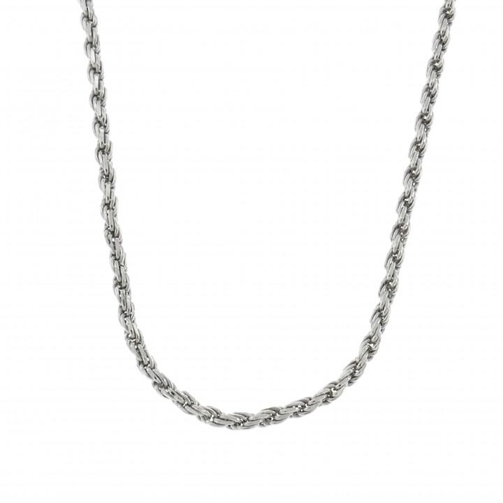 Цепочка для женщины, серебро 925 проба, длина 60 см