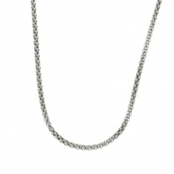 Chain for a woman, 925 sterling silver, length 56 cm