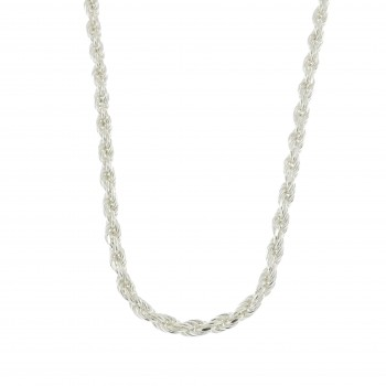 Chain for a woman, 925 sterling silver, length 54 cm
