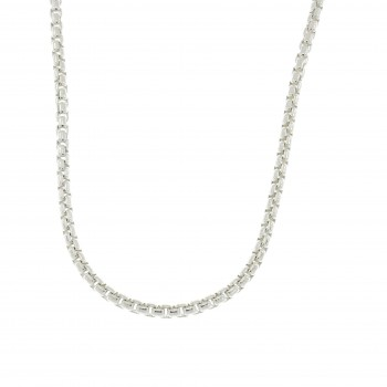 Chain for a woman, 925 sterling silver, length 50 cm