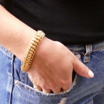 צמיד לאישה, זהב צהוב 14 קראט