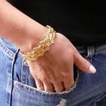 Bracelet for a woman, 14K yellow gold