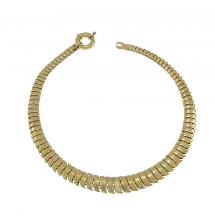 Женский золотой браслет, желтое золото 14 карат