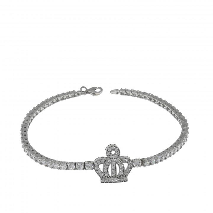 Женский браслет с короной