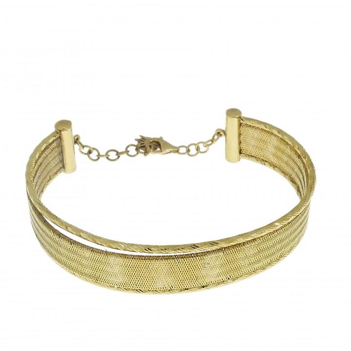 золотой браслет для женщины