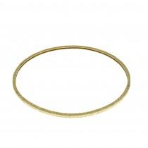 """צמיד לאישה, מרוקאי, זהב צהוב 14 קראט, קוטר 7 ס""""מ"""