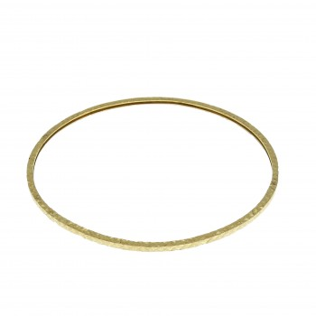 Bracelet for a woman, Moroccan, 14K yellow gold, diameter 7 cm