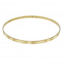 Bracelet for a woman, Moroccan, 14K yellow gold, diameter 6.5 cm