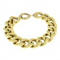 צמיד זהב, רחב, צהוב 14 ק