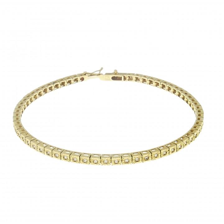 Женский браслет с бриллиантами